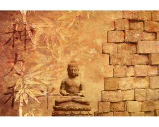 Livingwalls Photo wallpaper «Buddha in Meditation» 036060