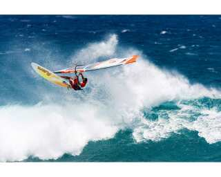 Livingwalls Photo wallpaper «Windsurfer on big wave» 036160