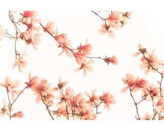 impression numérique «Salmon pink blossom» 036260