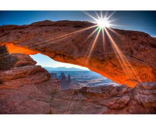 Photo wallpaper «Mesa arch» 036460