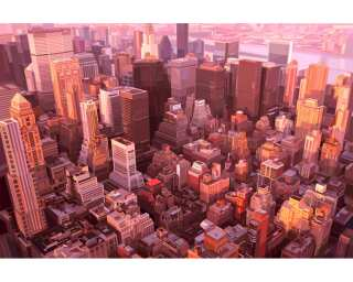 Livingwalls Фотообои «New York-Bird's eye view» 036610