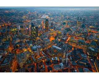 Livingwalls Фотообои «London-Bird's eye view» 036620