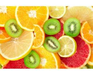 Livingwalls Fototapete «Fruit Mix» 036660