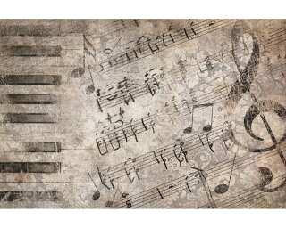 Livingwalls Photo wallpaper «Nostalgia wall music» 036820