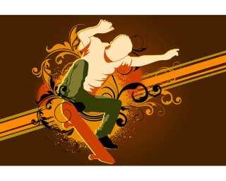 Livingwalls Fototapete «Skater boy» 036951