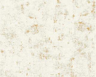 A.S. Création Tapete «Uni, Gold, Metallics, Weiß» 230775