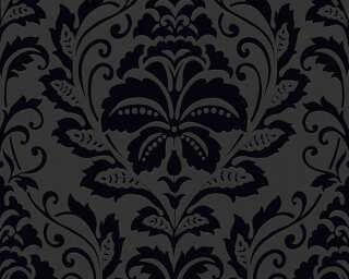 A.S. Création Wallpaper «Baroque, Black» 255426