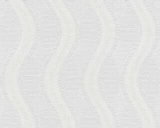 A.S. Création papier peint «Graphique, blanc, à peindre» 260512
