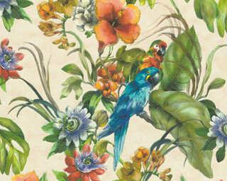 A.S. Création Tapete «Dschungel, Beige, Bunt» 300151