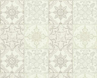 A.S. Création Wallpaper «Tile, Beige, Cream, White» 300423