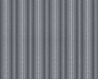 A.S. Création papier peint «Uni, argent, gris, métallique» 301874