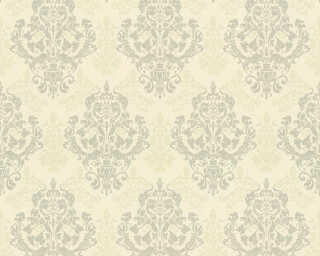 ORIGINALS Tapete «Barock, Grau, Metallics, Silber, Weiß» 301884