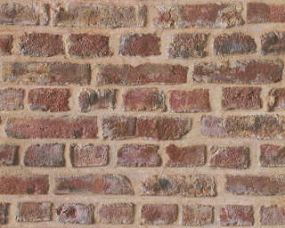 Lutèce Wallpaper «Stone, Beige, Brown, Red» 302191