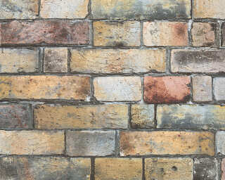Lutèce Wallpaper «Stone, Brown, Grey, Yellow» 302561