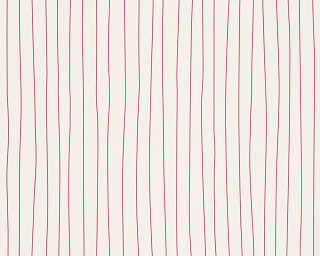 Esprit Home Wallpaper «Stripes, Red, White» 302782