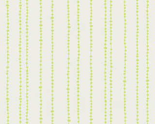 Esprit Home Wallpaper «Stripes, Green, White» 302852