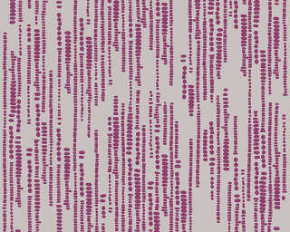 Esprit Home Wallpaper «Graphics, Beige, Purple» 302864