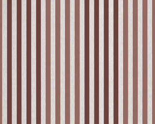A.S. Création Wallpaper «Stripes, Grey, Red» 303973