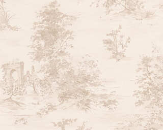 A.S. Création Wallpaper «Cottage, Beige, Cream, Pink» 304291