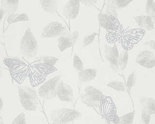 Livingwalls Обои «Флора, Белые» 304353