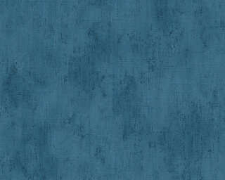 MICHALSKY LIVING Wallpaper «Uni, Blue» 304574