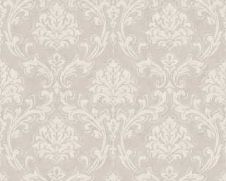 A.S. Création Wallpaper «Baroque, Cream, Grey, Metallic» 305047