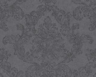 A.S. Création papier peint «Baroque, gris, noir» 305182