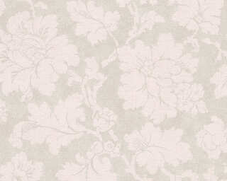 A.S. Création Wallpaper «Cottage, Cream, Grey, Pink» 305194