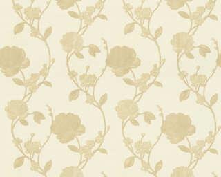 ORIGINALS papier peint «Floral, beige, crème» 305381