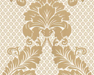 Architects Paper Wallpaper «Baroque, Cream, Gold, Metallic» 305442