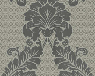 Architects Paper Wallpaper «Baroque, Grey, Metallic, Silver» 305444