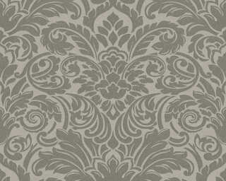 Architects Paper Wallpaper «Baroque, Grey, Metallic, Silver» 305453