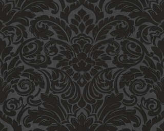 Architects Paper Wallpaper «Baroque, Black, Metallic» 305455