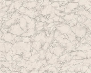 Daniel Hechter Wallpaper «Marble, Grey, White» 305821