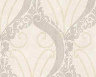Lutèce papier peint «Baroque, beige, métallique, or» 305863
