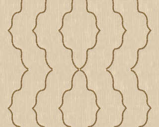 Architects Paper Design panel «Baroque, Cream, Metallic» 306151