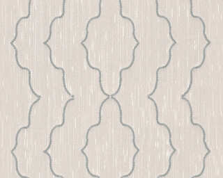 Architects Paper Design panel «Baroque, Cream, Metallic, Silver» 306152