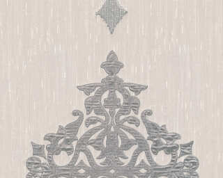 Architects Paper Design panel «Baroque, Cream, Metallic, Silver» 306173