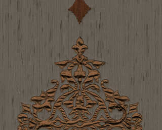 Architects Paper Design panel «Baroque, Brown, Copper, Metallic» 306175