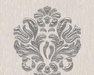 Architects Paper Design panel «Baroque, Cream, Metallic, Silver» 306342
