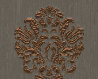 Architects Paper Design panel «Baroque, Brown, Copper, Metallic» 306345