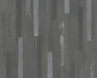 Livingwalls Wallpaper «Graphics, Black, Metallic, Silver» 306422