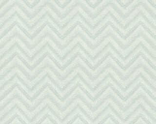 Lutèce papier peint «Graphique, turquoise, vert» 306552