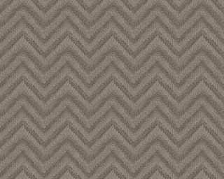 Lutèce papier peint «Graphique, beige, marron» 306553