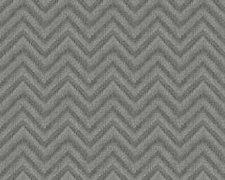 Lutèce Обои «Графика, Металлик, Черные» 306555