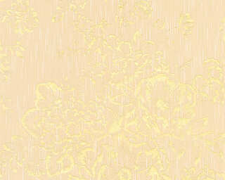 Architects Paper Wallpaper «Uni, Cream, Gold, Metallic» 306573