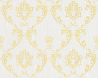 Architects Paper Wallpaper «Uni, Gold, Metallic, White» 306581