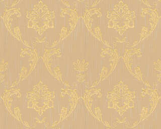 Architects Paper Wallpaper «Uni, Beige, Gold, Metallic» 306584
