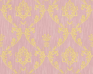 Architects Paper Wallpaper «Uni, Gold, Metallic, Pink» 306585