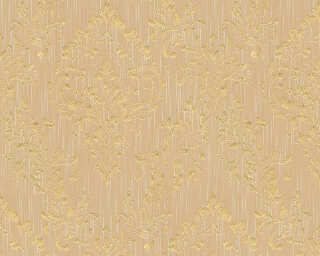 Architects Paper Wallpaper «Uni, Beige, Gold, Metallic» 306594